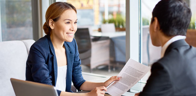 The types of contracts within the purchasing department